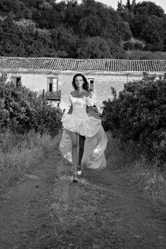PAPA MICHEL dress from Sottile collection in Cefalu/Sicily #PAPA MICHEL #wedding dress #wedding #dress #bride #suknia #ślub #beauty #sexy #sun #woman #panna młoda #Sicily #Cefalu #Italy