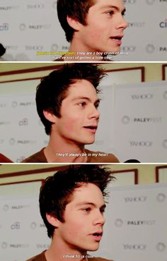 Dylan O´Brien about One Direction