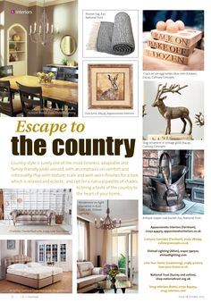 Escape to the country ~ A taste of the Great British countryside at the heart of the home. Farnham Surrey, Cracked Egg, British Countryside, Great British, Country Style, Gallery Wall, Home And Garden, Gardens, Homes