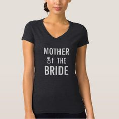 MOTHER OF THE BRIDE Wedding Ladies Mom Shirt Top   #wedding #motherofthebride