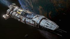 distresscalls:  Spaceships by Hans Palm. http://ift.tt/2bf3X2r