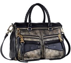 It's all in the details with this chic Soho leather satchel from designer Aimee Kestenberg. QVC.com