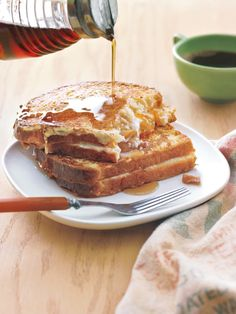 cream cheese-and-marmalade french toast sandwiches