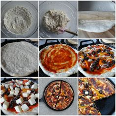 fewminutewonders: Pizza Without Yeast In 20 Minutes: Learning From Jamie Oliver