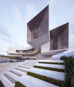 Darwish Villa Amman Jordan Conceptual Approved Creato Villa