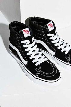 79d953f3357b Vans Sk8-Hi Sneaker Black High Tops