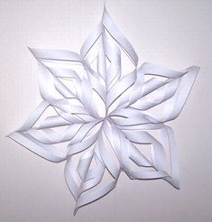 Christmas paper decorations page