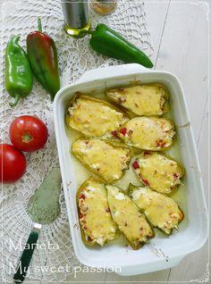 Когато готвенето стане страст: Лодки от чушки с яйца и сирене