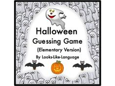 Halloween Guessing Game & Task Cards build critical thinking! Students guess what it is and try to get three in a row. Or use the cards as task cards in your learning centers! Halloween fun! $