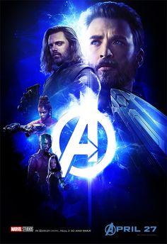 56953706226 AVENGERS  INFINITY WAR Character Group  Captain America