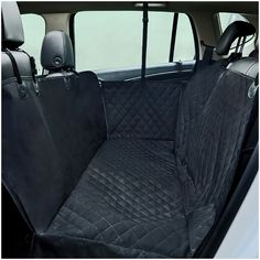 Pet Dog Black Quilt Waterproof Anti-skid Car Seat Cover, 3D * Check out this great product. (This is an affiliate link and I receive a commission for the sales)