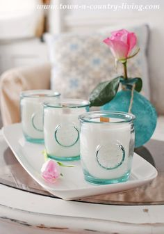 How to Make Scented Candles in Jars