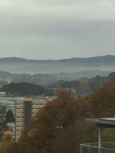 Vista famines Janela! Fyllingsdalen, Bergen, Norway. Fall, autum, outono, høst.
