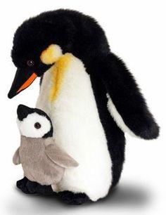 14cm Plüschtier Pinguin Baby Perri grau Kuscheltier Pippins Stofftier ca