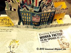 Meet Charlie Bucket, a boy who loves chocolate. Meet Willy Wonker, the owner of a chocolate factory and the world's most wondrous inventor.  An abridged version, this pop-up book's illustrations are the true originals by Quentin Blake. What this version added on was the clever use of cutouts for the popups and usage of special materials and embossing techniques. Entertaining, funny and certainly a beautiful book.