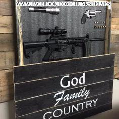 God Family Country Home Defense Concealment Art