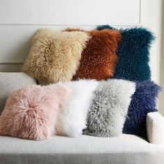 Few things are softer than our Mongolian Lamb Pillow Covers. Fluffy Pillows, Cute Pillows, Diy Pillows, Throw Pillows, Accent Pillows, Diy Pillow Covers, Decorative Pillow Covers, Decorative Cushions, Girls Bedroom