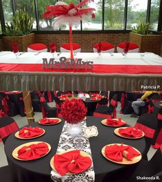 Make your special events and celebrations memorable withcheap party suppliesfrom efavormart. Tulle Wedding Decorations, Black And Gold Party Decorations, Banquet Decorations, Wedding Reception Backdrop, Birthday Party Decorations, 75th Birthday Parties, Birthday Dinners, Crown Centerpiece, Centerpieces