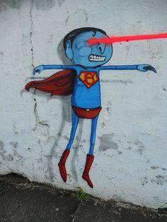 SUPER-MAN by CRANIO., via Flickr
