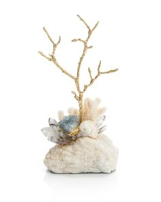 Crystal, Agate and Brass Twig - Accessories - New Introductions - Our Products