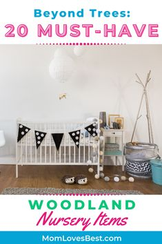 Nature is so calming that woodland decor makes a wonderful nursery idea for babies. It may even stimulate interest or an appreciation of nature for your baby. Sleep Schedule, Sleeping Through The Night, Woodland Nursery Decor, Baby Sleep, Calming, Appreciation, Whimsical, Babies, Nature