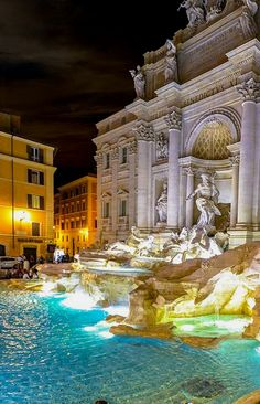 Most Beautiful Places in Italy - Trevi Fountain, Rome Travel Photography Italy Destinations, Holiday Destinations, Holiday Places, Rome Travel, New Travel, Italy Travel, Travel Europe, Travel Goals, Rome Photography