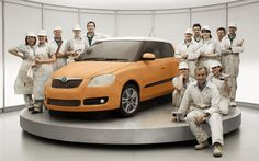 A list of seven edible life-size replicas of famous cars, from a Skoda Fabia Cake to a Ford Woodie made of gingerbread Extreme Cakes, Tv Ads, Skoda Fabia, Car Makes, Latest Cars, Transport, Amazing Cakes, Amazing Art, Awesome