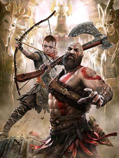 God Of War Game, Silk Screen Printing, Weekend Is Over, Printing Process, Original Art, Statue, Illustration, Prints, Image