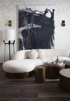 Amazing living room marking statement on InteriorDesign, the best inspirations with Rug'Society for your home. Check more at rugsociety.eu