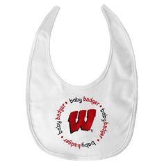 NCAA University of Wisconsin Bib 2 Pack