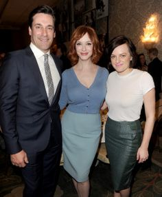 Much swooning ensued when Mad Men muse Christina Hendricks was spotted in a #Boden cashmere cardigan last weekend.