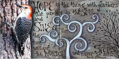 Hope | �2010 Vickie Hallmark | art journal mixed media