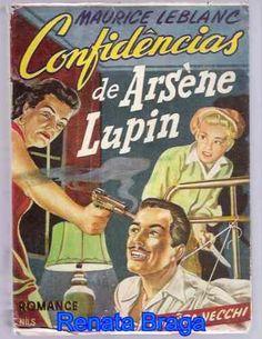 livro confidências de arséne lupin maurice leblanc ed.vecchi