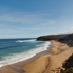 Bells Beach  Miss my west coast #France but it's not too bad here  #Beach #summer #BellsBeach #Victoria #roadtrip #greatoceanroad #GOR #travel #australia #sun #GoodVibes #ocean #waves by d_nart http://ift.tt/1KnoFsa