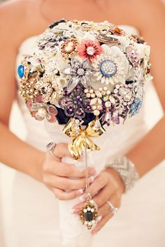 ;Can Use With Family Heirlooms (Grandmas Broaches.) Cute And Unique Idea