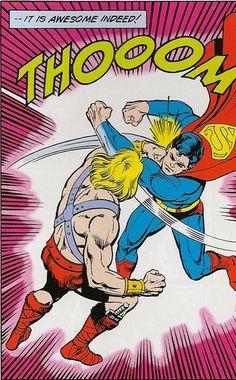 He-Man vs Superman