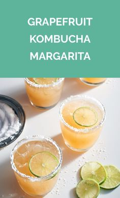 Grapefruit Kombucha Margarita | Get the recipe for Grapefruit Kombucha Margarita.