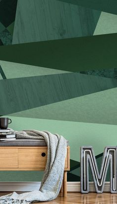 This stunning Green Abstract Forest wall mural from Wallsauce will bring the Geometric look to your room. All custom made to your measurements. Simply choose any one of your favourite mural designs and select peel and stick wallpaper. Discover more from Wallsauce! #wallpaper #homedecor #livingroomideas #wallmural Home decor apartment renting diy ideas. Green Wallpaper, Geometric Wallpaper, Colorful Wallpaper, Peel And Stick Wallpaper, Wall Wallpaper, Wall Ideas, Diy Ideas, Renting, Designer Wallpaper