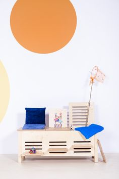 multifunctional bench by Bettina Porr