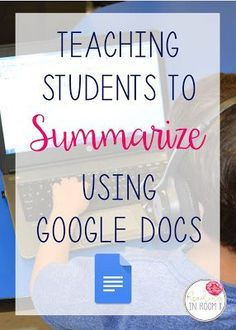 Learning to write a summary can be a tricky skill for students. It is not always easy to pick the appropriate information to include. One way I help my Learning To Write, Teaching Writing, Student Teaching, Teaching Ideas, Teaching Biology, Teaching English, Google Docs, Reading Workshop, Reading Skills