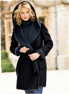 a5f727be99 Black Forest Alpaca   Wool Coat