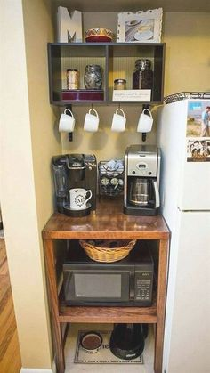 Small kitchen storage organization ideas are easy to create in your kitchen. You can create space for your kitchen equipment.Find the best designs! #KitchenStorage