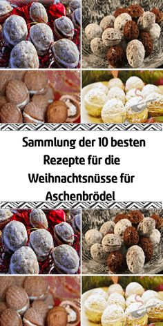 """Collection of the 10 best recipes for the Christmas nuts for Cinderella , Are you also fans of the fairy tale """"Three Hazelnuts for Cinderella""""? The film is inseparable from Christmas. The fairy tale should not be missing at . Confectionery, Toffee, Christmas Cookies, Nutella, Cinderella, Stuffed Mushrooms, Good Food, Food And Drink, Form"""