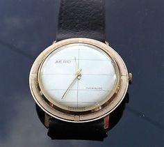 Vintage-Swiss-Aero-Watch-Incabloc-Men-039-s-1960-039-s-L57-11