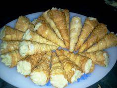Aprenda a fazer Receita de Cones de massa de pastel, Saiba como fazer a Receita de Cones de massa de pastel, Show de Receitas