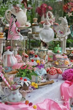 Tea Party .... this would be a beautiful wedding for Halie!!