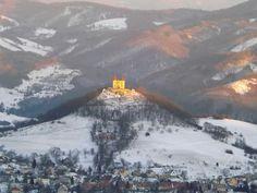 Banská Štiavnica, kalvária, Slovakia