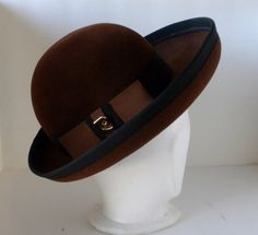 Vintage hat  Pierre Cardin Ladies Wool Hat Paris New by oldandnew8, $30.00