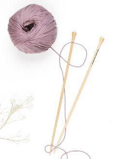 100% Pima Cotton yarn ball
