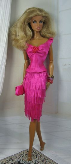 Haute PInk - I don't care for this doll - but I love the fun outfit!  Sassy and oh the color!
